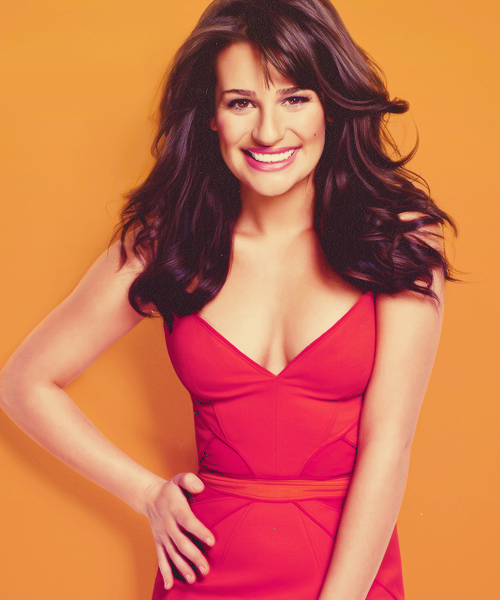Lea Michele love her hair