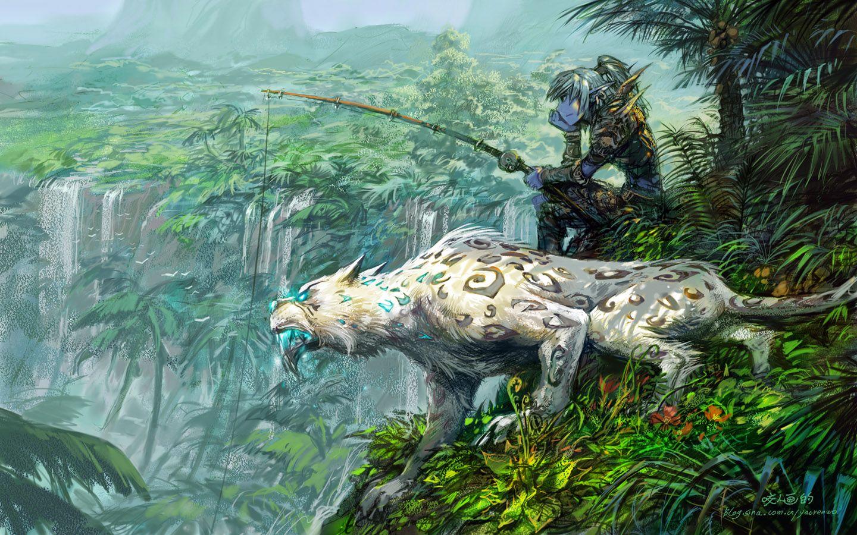 Bfa Hd Wallpaper: Illustration De Yaoren Wo
