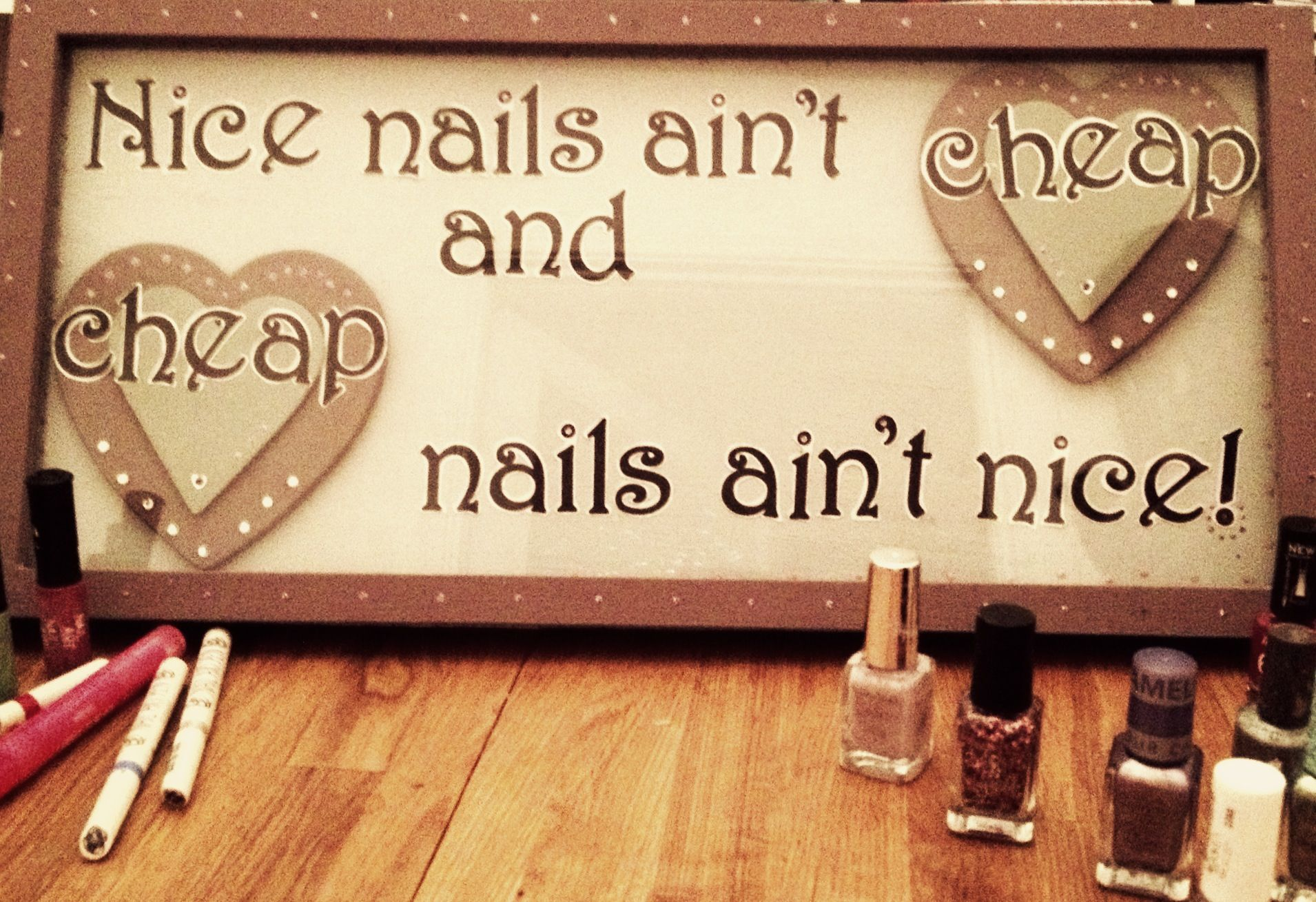 Home made for nail salon