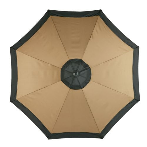 mosaic 9 round steel market umbrella