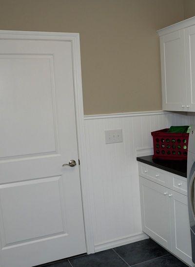 "10 Rooms Featuring Beadboard Paneling: PVC Beadboard Kit, 52"" H, 8 Ft"
