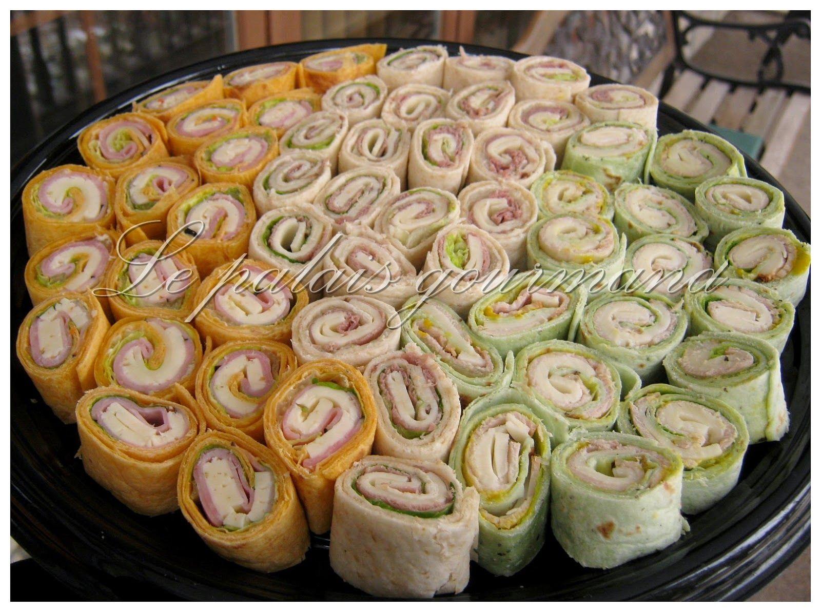 le palais gourmand sandwiches roul s tortillas apero pinterest sandwichs roul s recette. Black Bedroom Furniture Sets. Home Design Ideas