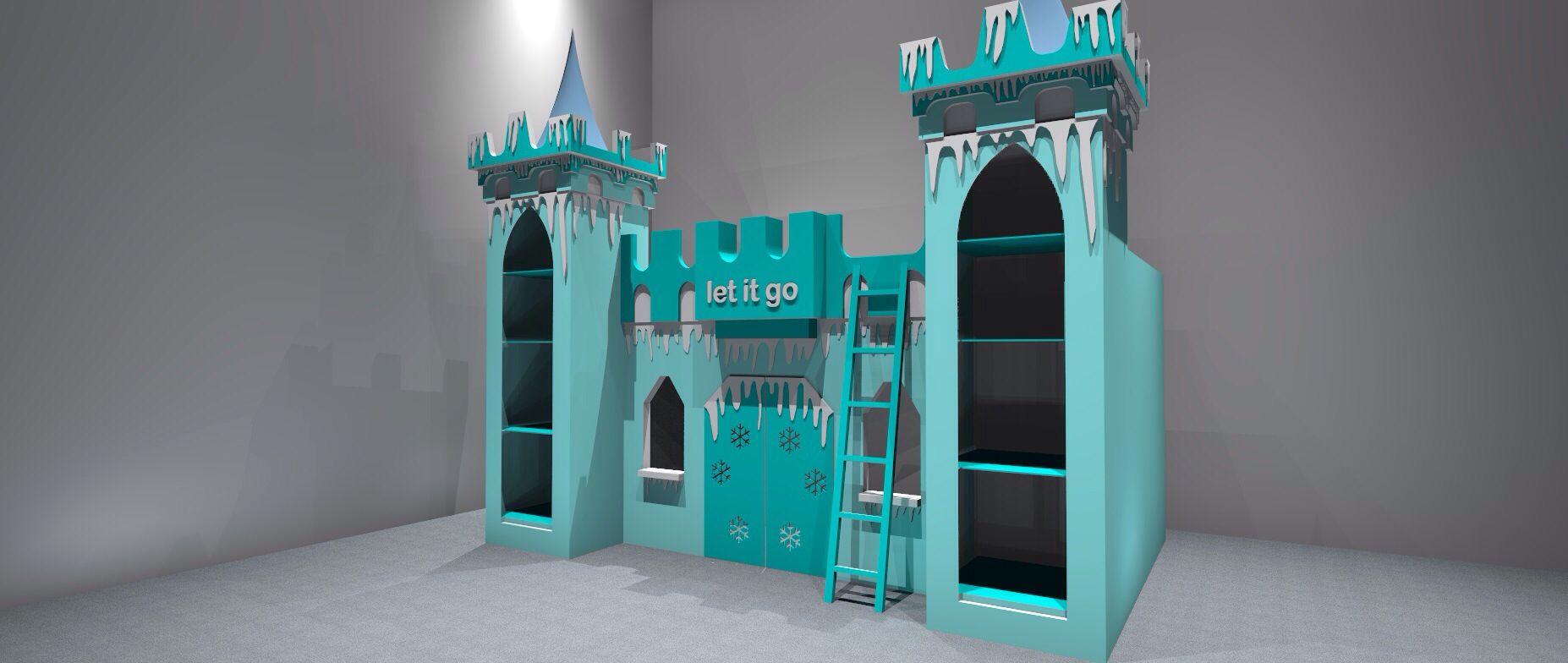Cheap Bedroom Sets Kids Elsa From Frozen For Girls Toddler: Frozen Children's Bed By Www.dreamcraftfurniture.co.uk