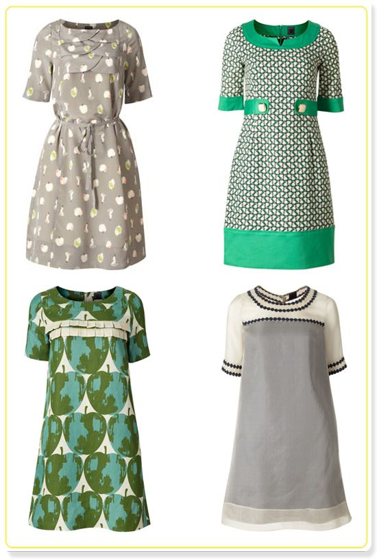 Orla Kiely Dresses These Look Easy Enough To Make Your Own Knock Off