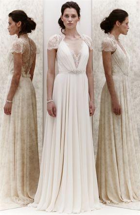 jenny packham vestidos de novia en madrid - blanco de novia | telas