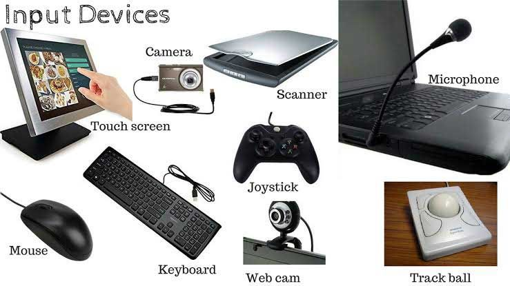 What Is An Input Device Types Of Input Devices With Images Computer Basics Input Devices