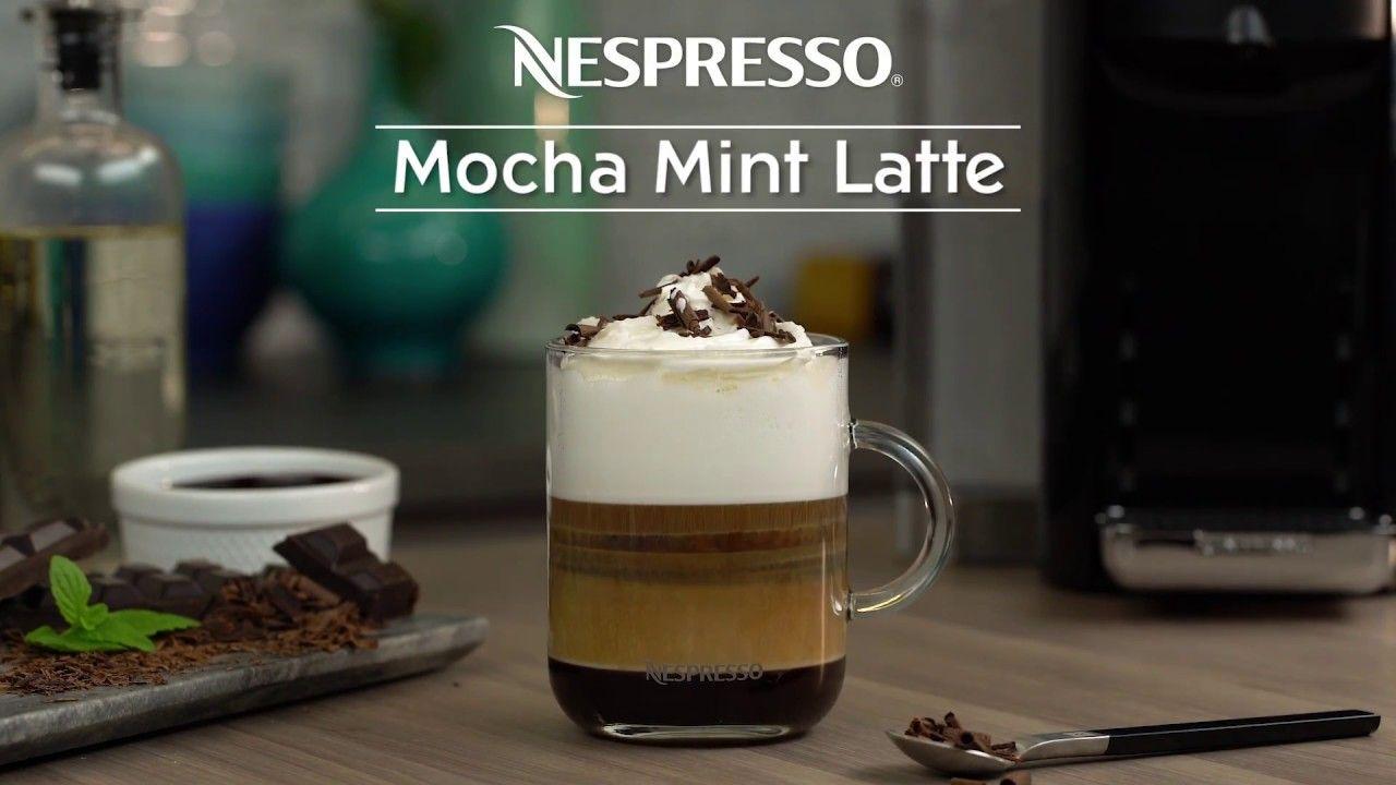 Mocha mint latte recipe nespresso recipes mint mocha