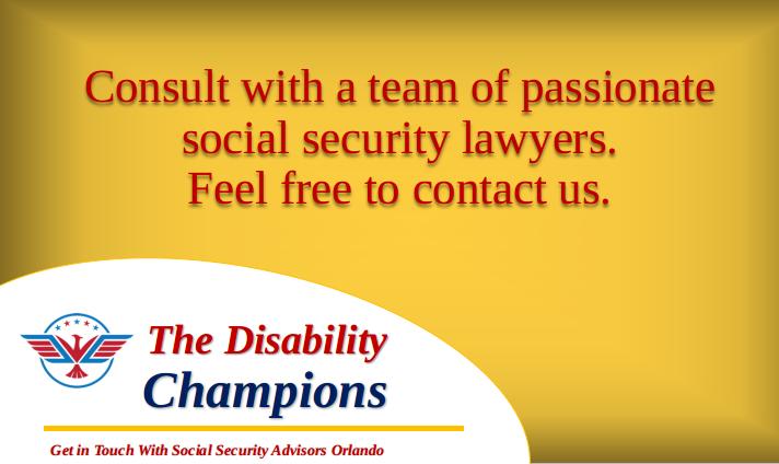 Social Security Consultants Orlando Security Consultant Social Security Disability Social Security