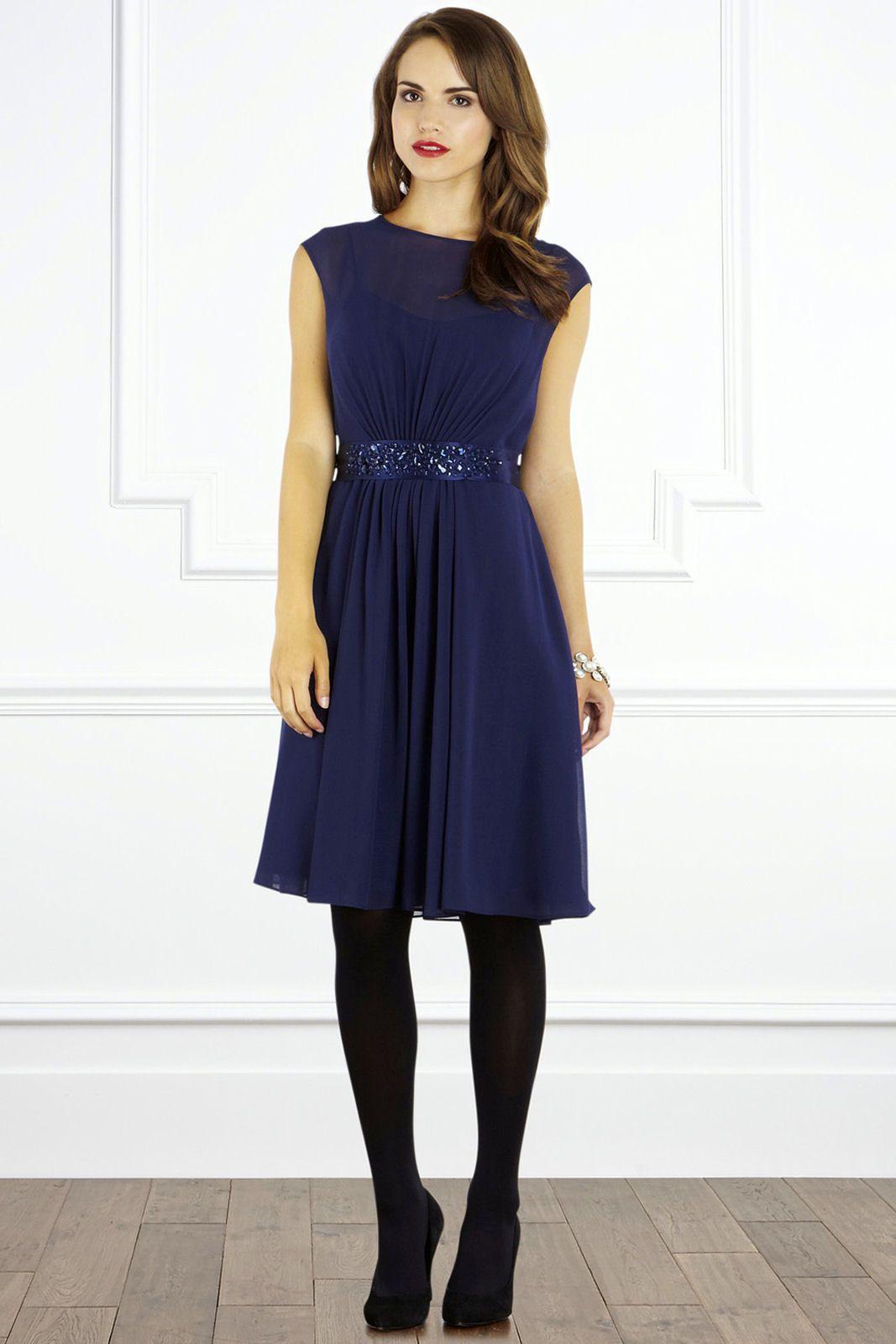Cute Navy Blue Bridesmaid Dresses Fashall