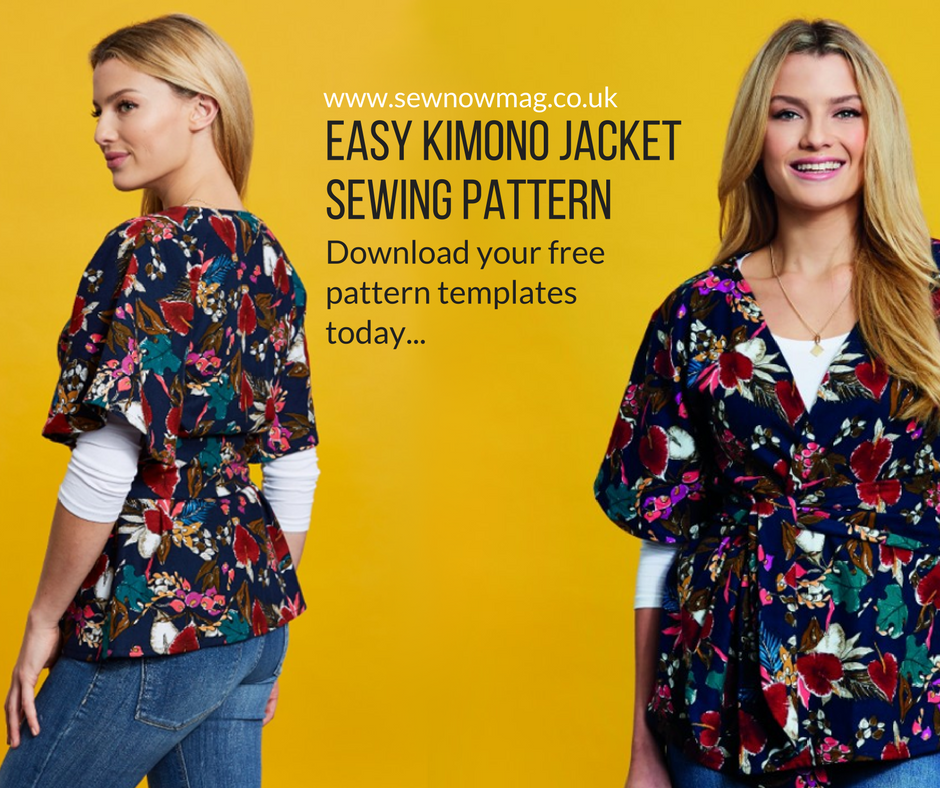 easy kimono jacket sewing pattern | Sew Inspired! | Pinterest