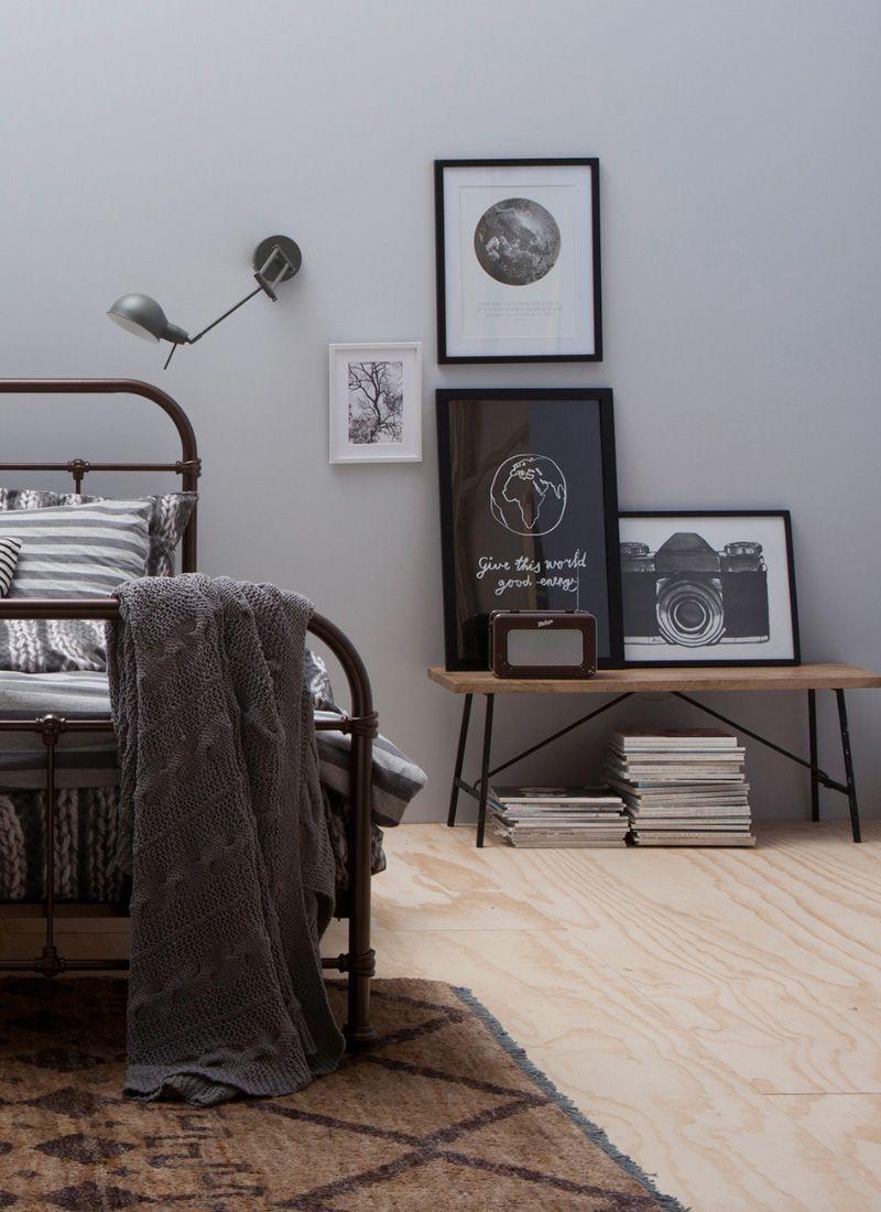 industrial #homedeco #posters #bedding #slaapkamer - Slapen ...