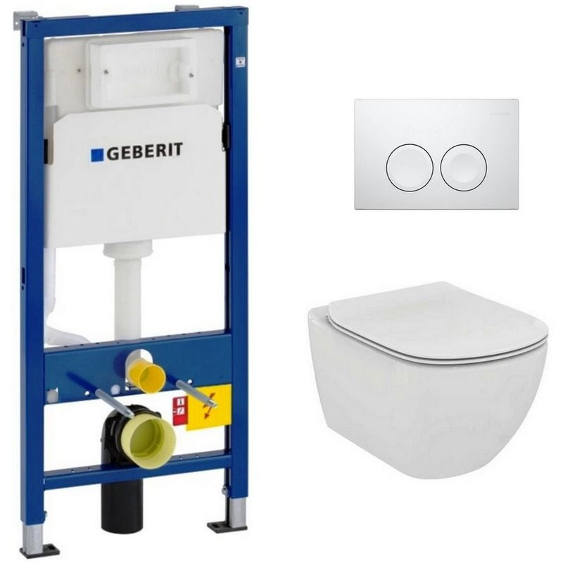 Geberit Pack Wc Geberit Duofix Up100 Cuvette Ideal Standard Tesi