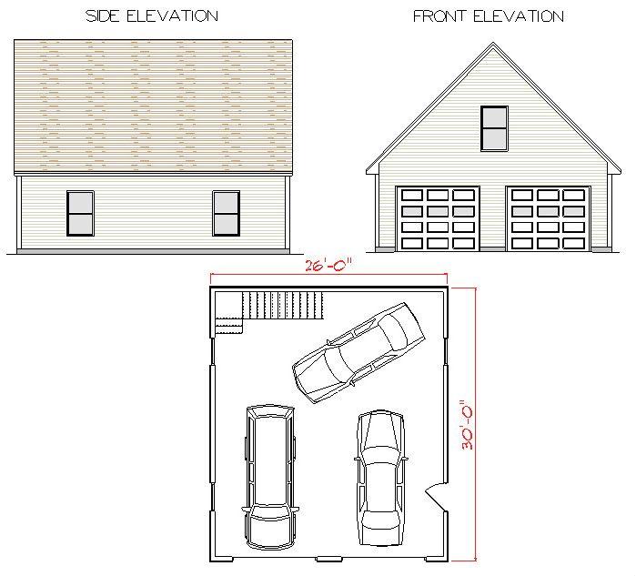 amazing 28x30 garage plans #5: Image result for garage plans packages ...