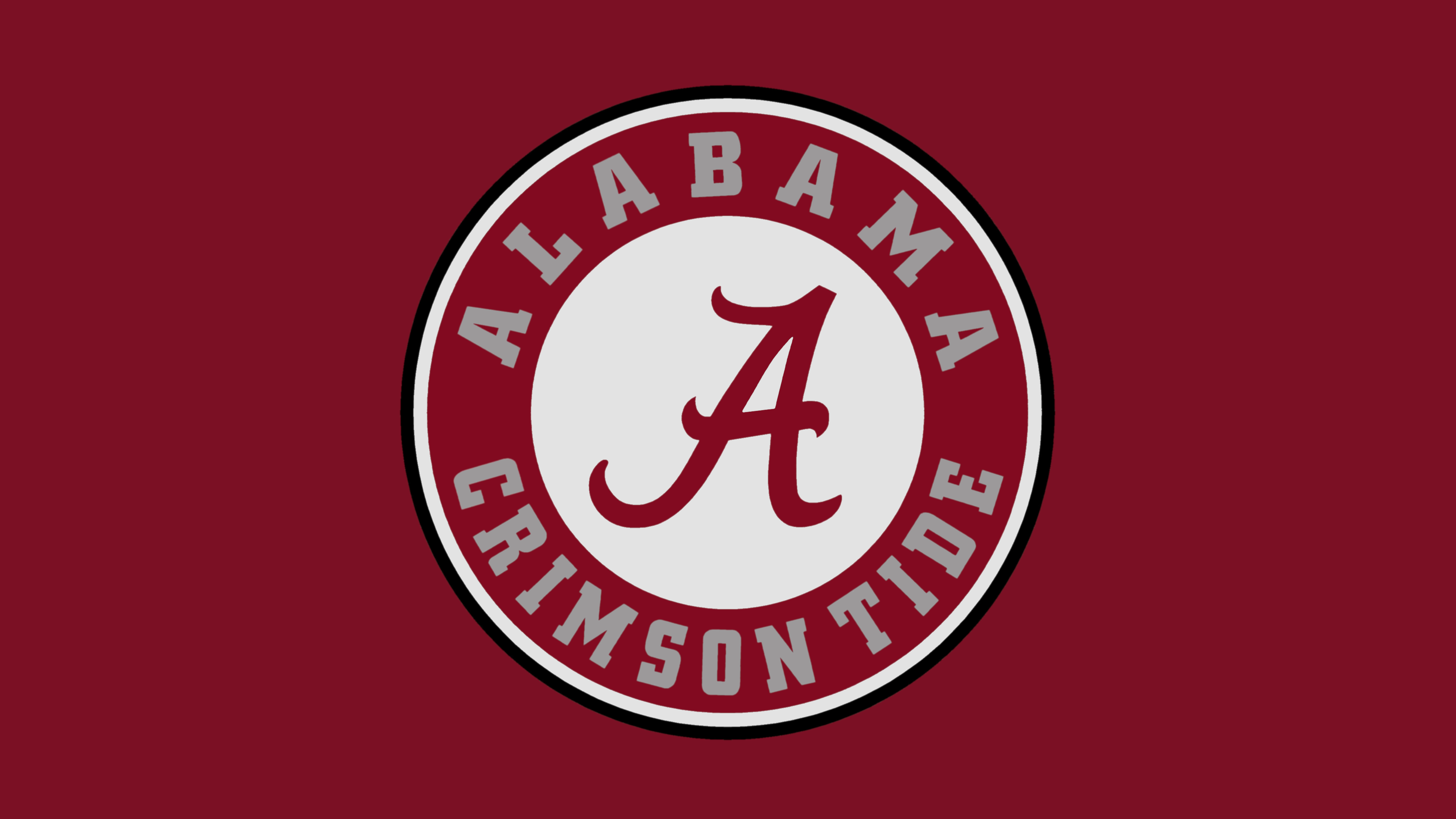 Plain Crimson Alabama Crimson Tide Logo Alabama Logo Alabama Crimson Tide