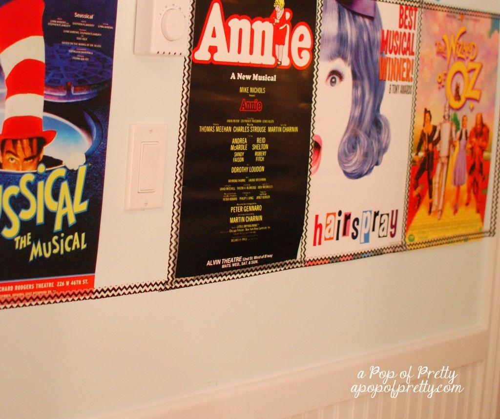Diy Broadway Party Decor Party Theme Ideas Broadway