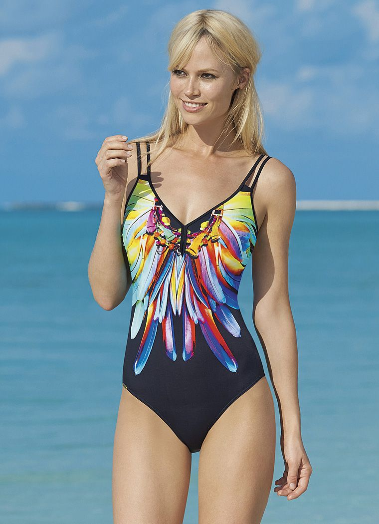 Badpak Sunflair.Sunflair Badpak One Piece Swimsuits Swimsuits One Piece