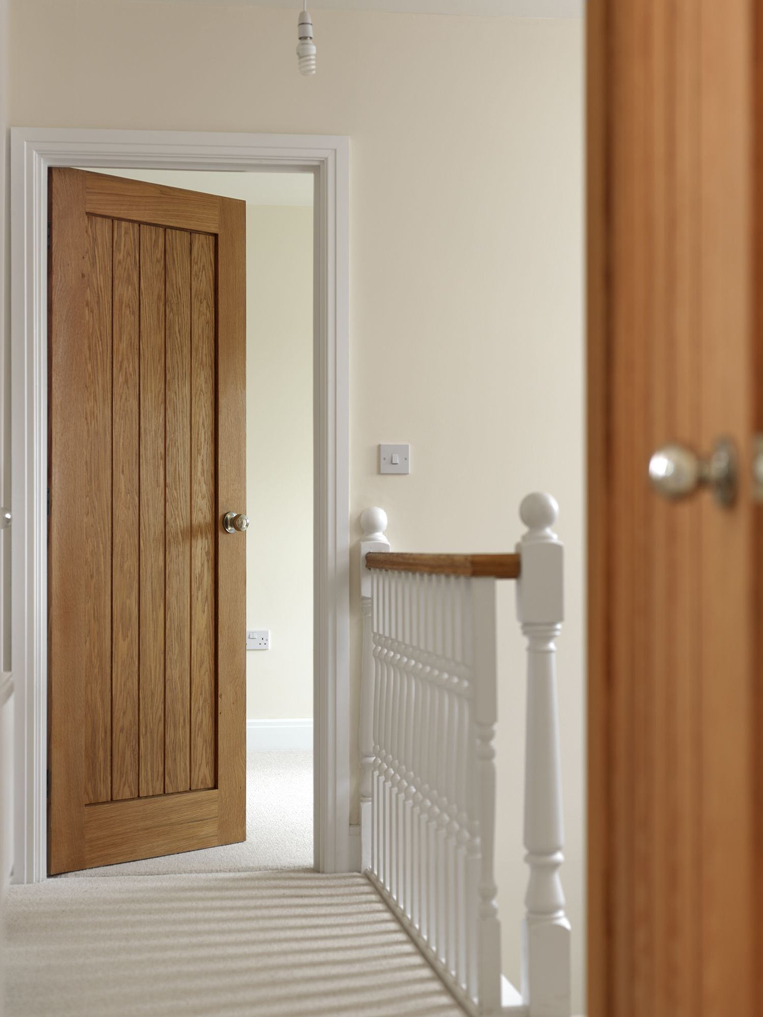 Cottage Style Boarded Oak Doors Never Fail To Look