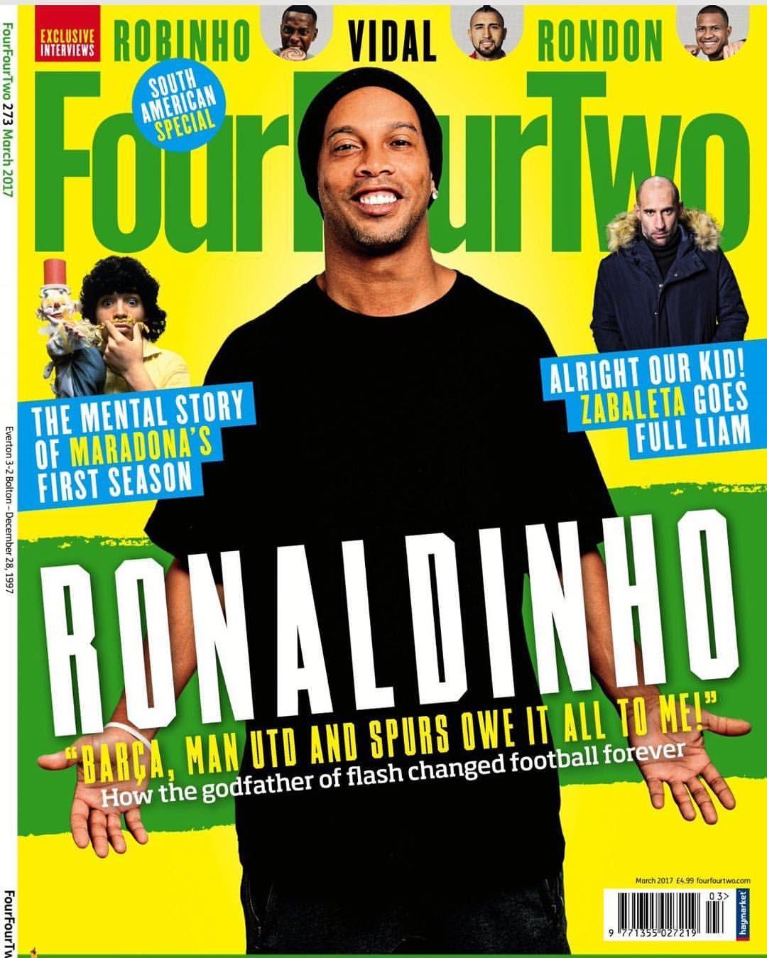 Galera, leiam a última edição da revista FourFourTwo! Tem