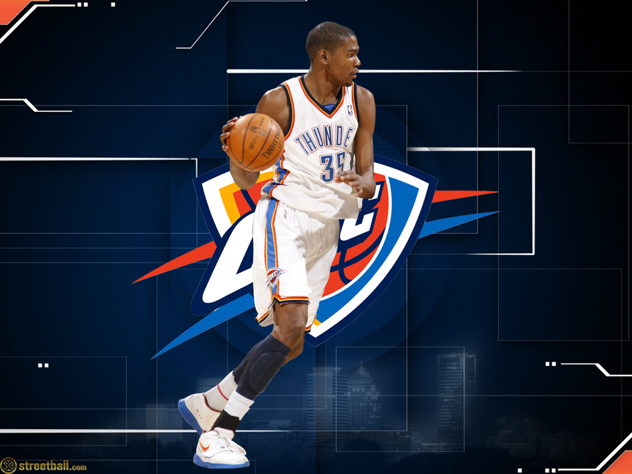 Wallpapermill Com Kevin Durant Wallpapers Oklahoma City Thunder Nba Wallpapers
