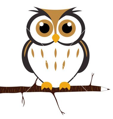 Cartoon owl vector 142759 - by hakane on VectorStock® | Owls ...