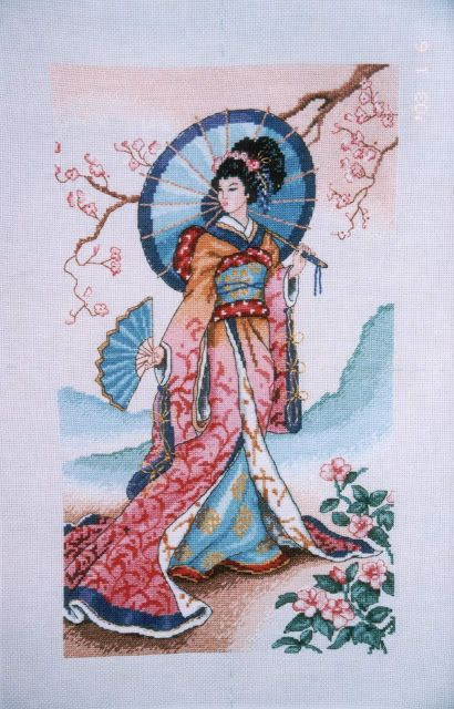 Mote: Flower Of The East - Dimensions | My cross stitch | Cross