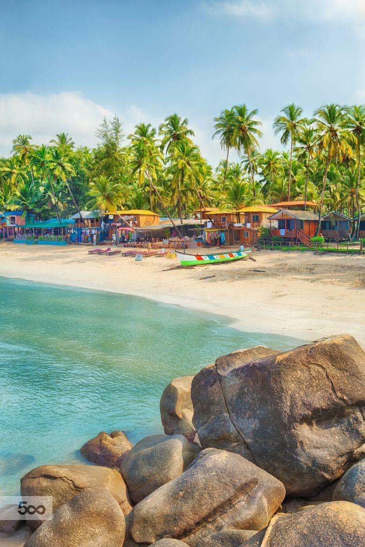 ***Palolem beach, Goa, India