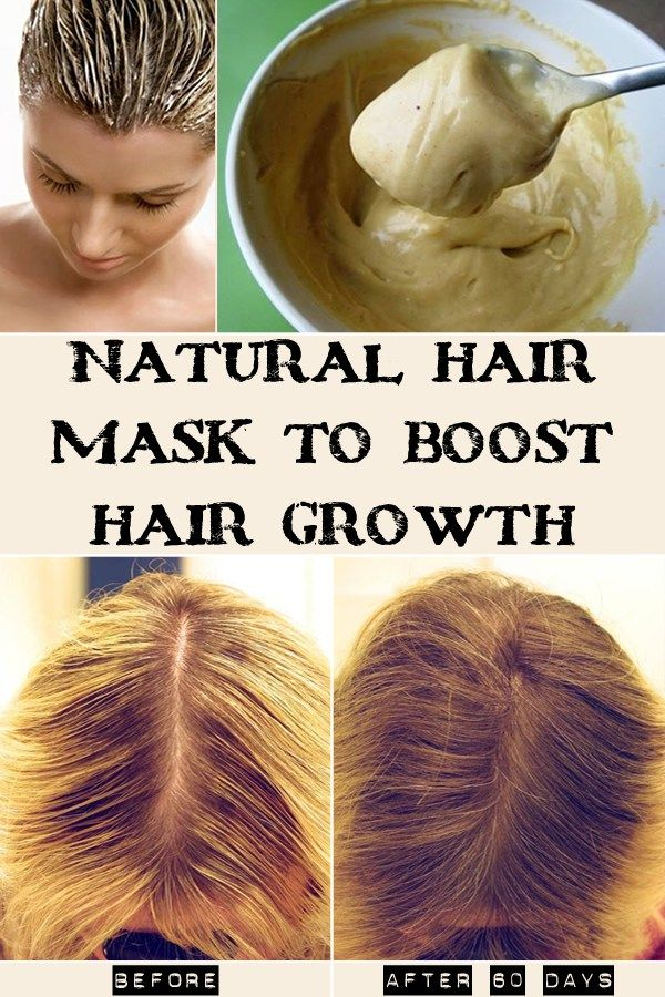 Natural Hair Mask To Boost Growth