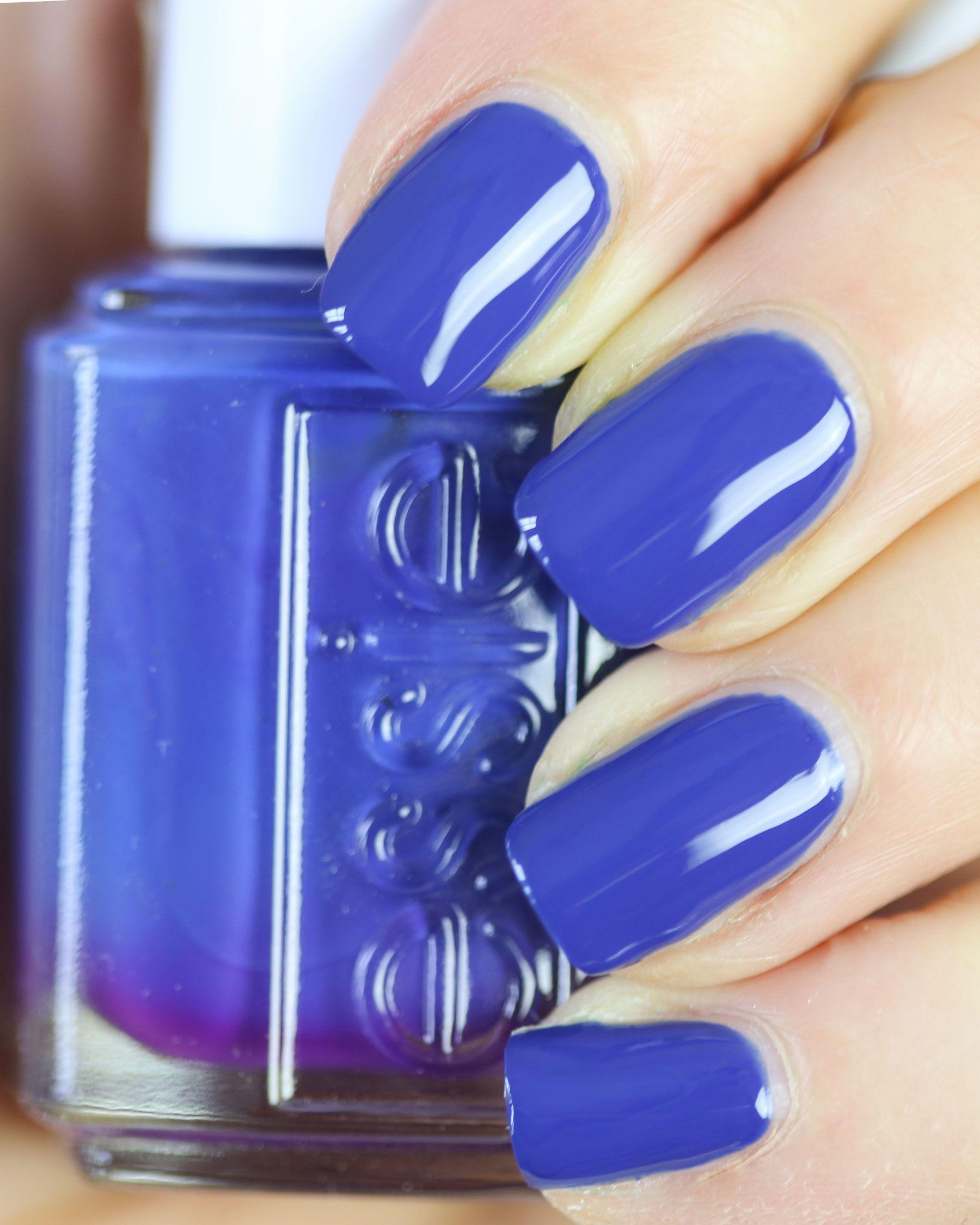 Essie Spring 2017, Essie Spring Swatches, Essie All The Wave, Blue Nails,