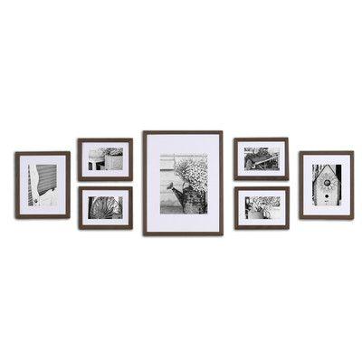 NielsenBainbridge Gallery 7 Piece Perfect Wall Picture Frame Set ...