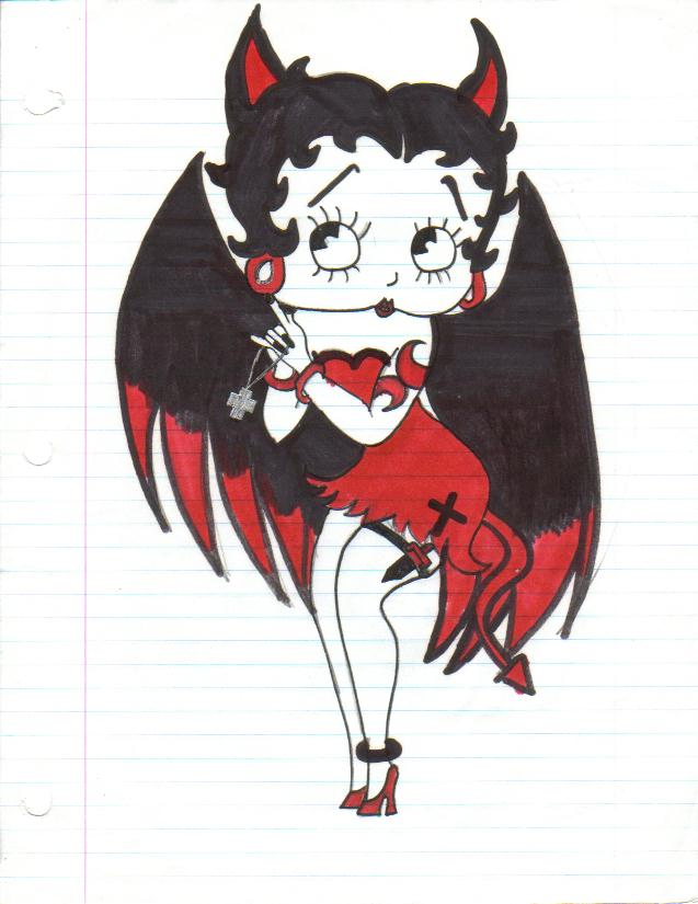Betty Boop, Evil by RyuAka on DeviantArt Betty boop 🤩 #bettyboop #love #emo #cartoon #vintage #lovequotes #art #nichememes #niche #nichememe #grunge #grungefashion  #egirls #besties  #disney #cartoons  #cartoonwithnormanreedus  #bettybooplovers #bettyboopfashion #passione #k #discoverunder #oldcartoons #fanart  #bhfyp #followme #quotes