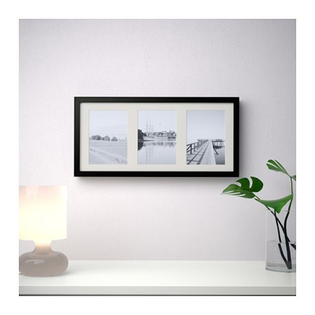 Ribba Photo Frame | 20 Amazing Ikea Bedroom Ideas Under $20 | Living ...