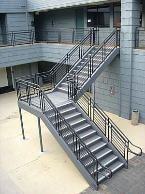 Best Image Result For Prefab Steel Stair Treads Concrete With 640 x 480