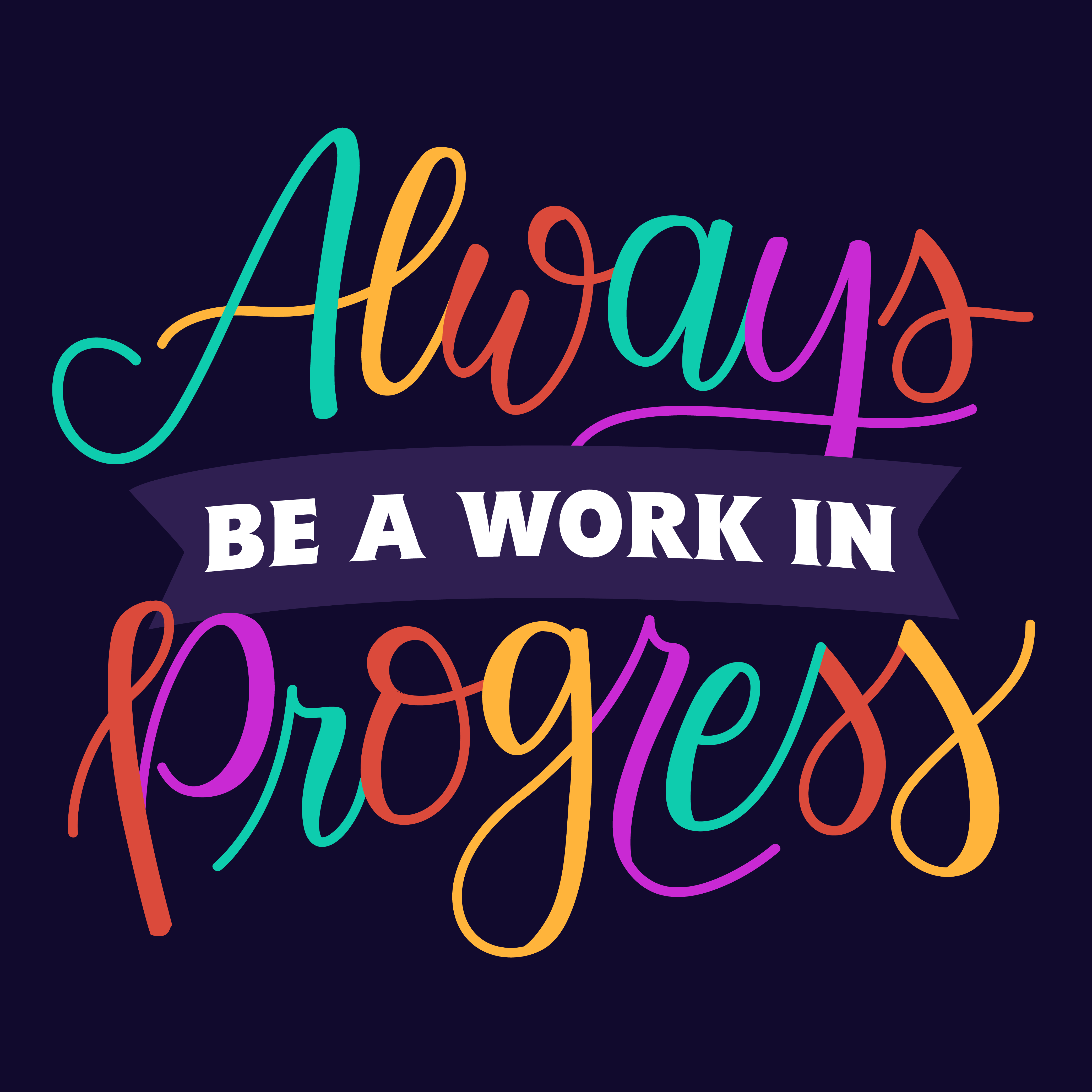 Always Be A Work In Progress Inspirational Quotes Words Inspirational Words Amazing Quotes