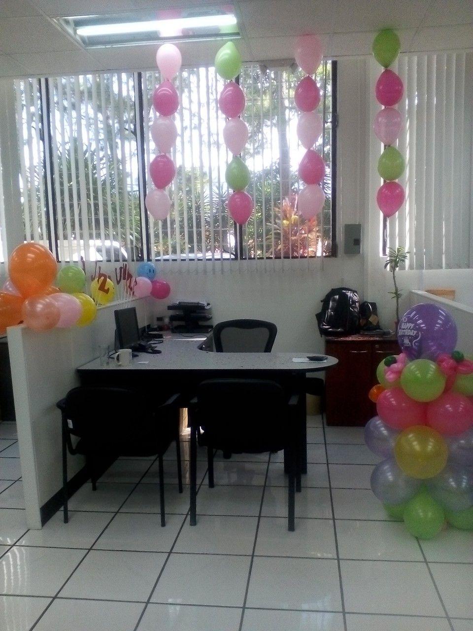 Decoraci n oficina cumplea os decoraciones decorar for Decoracion para oficina