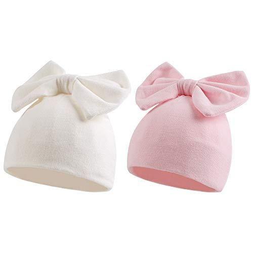 Newborn Hat Baby Bow Turban Hats Infant