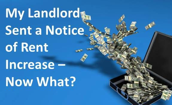 My Landlord Sent a Notice Of Rent Increase - Now What? - http - rent increase notice