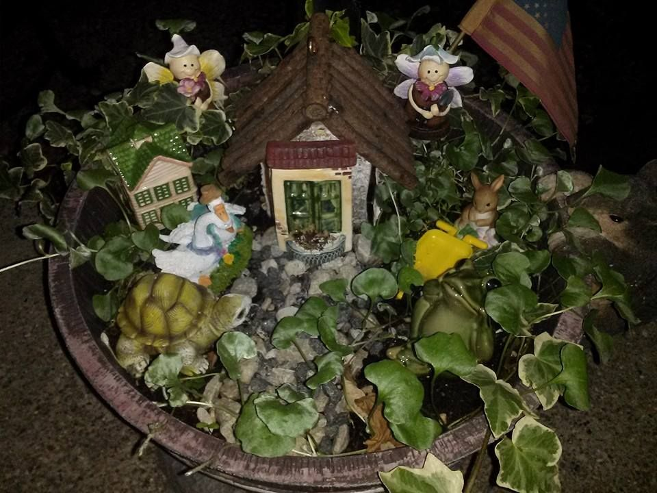 Most Recent Picture Of My Fairy Garden Fairy Gardens Mine Beauteous Fairy Garden Ideas Pinterest Pict