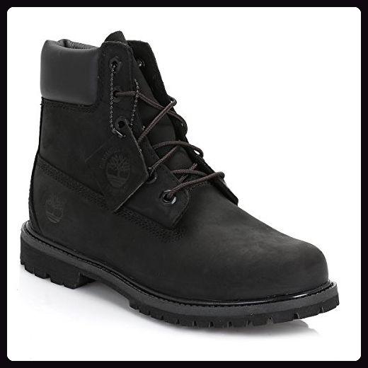 size 40 4179a 6abba Timberland Schwarz Damen Schwarz 6 Inch Premium Stiefel ...