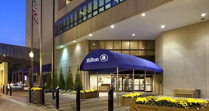 Hilton Lexington Downtown Hotel Kentucky Entrance