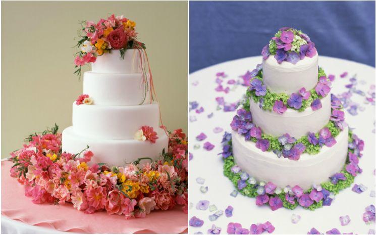 Como decorar un pastel con flores naturales buscar con - Decoracion de jarrones con flores artificiales ...