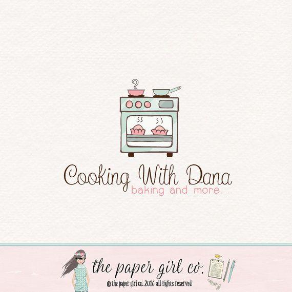 Oven Logo Cooking Logo Catering Logo Food Blogger Logo Recipe Logo