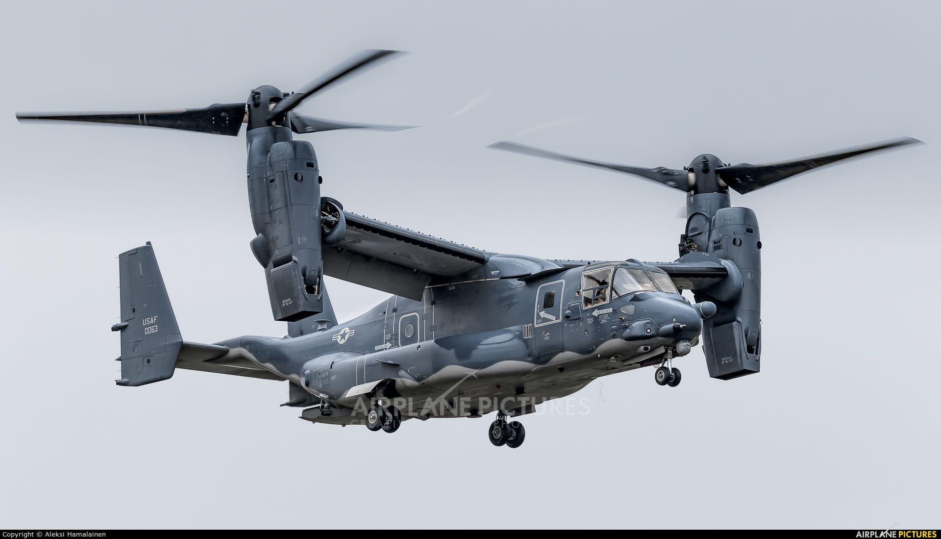 USA Air Force BellBoeing CV22B Osprey photo by Aleksi