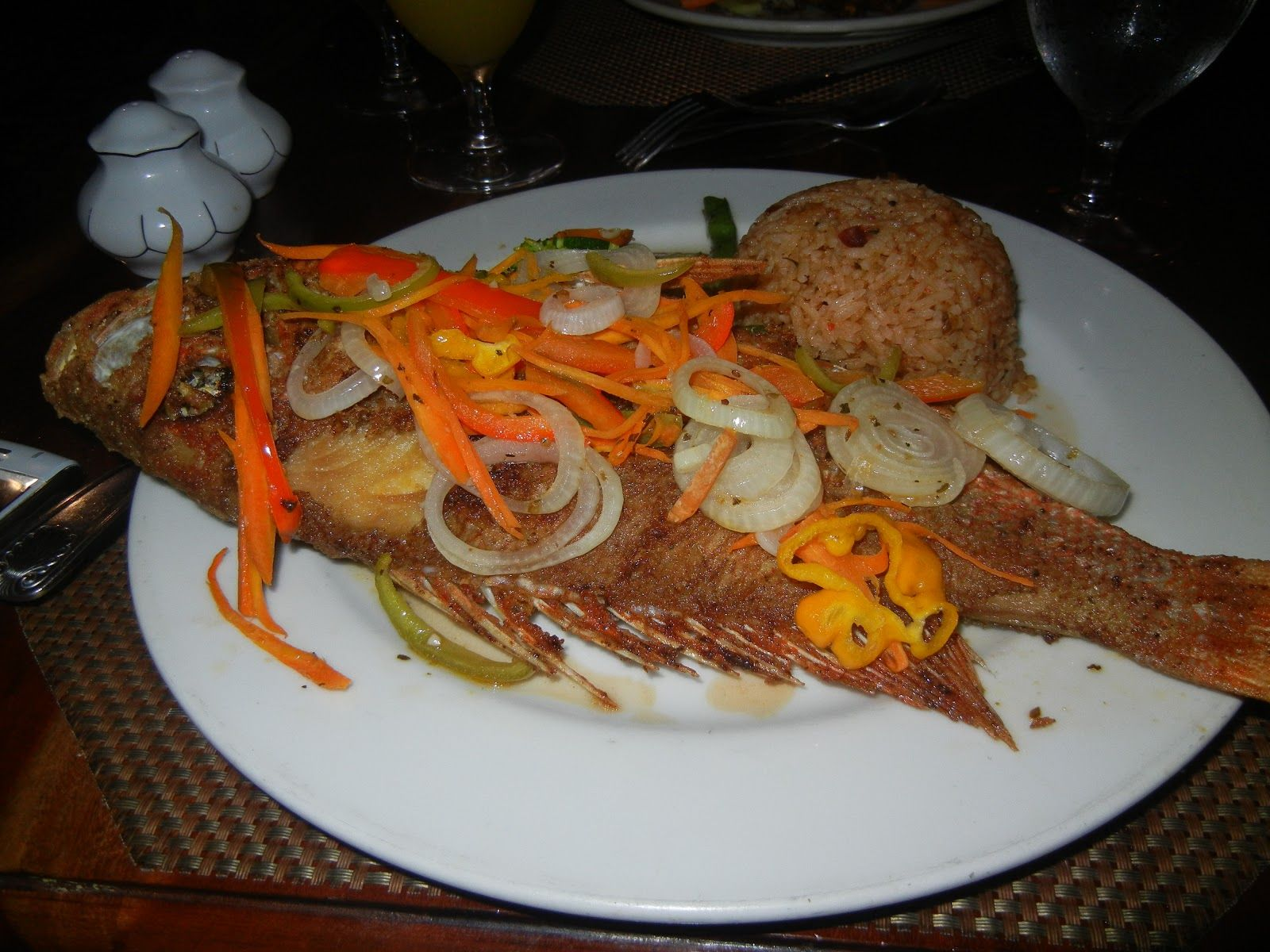 Escovitch fish grub pinterest fish for Jamaican fish recipes