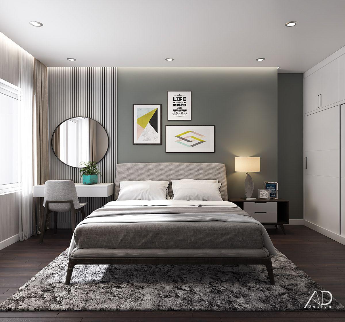 VINHOMES CENTRAL PARK on Behance   Bedroom bed design, Bedroom ...