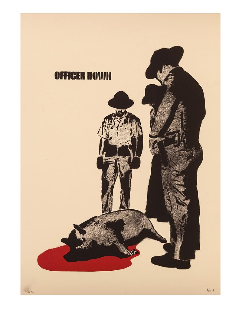 DOLK PRINTS - OFFICER DOWN