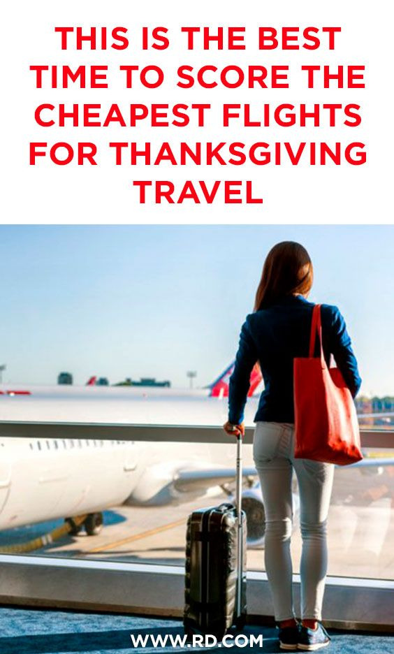 This Is the Best Day to Book Your Christmas Flight, According to Experts  Thanksgiving travel