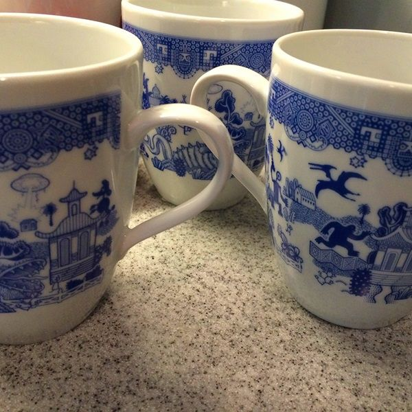 These Porcelain Mugs Remind You That Your Day Could Be A Lot Worse