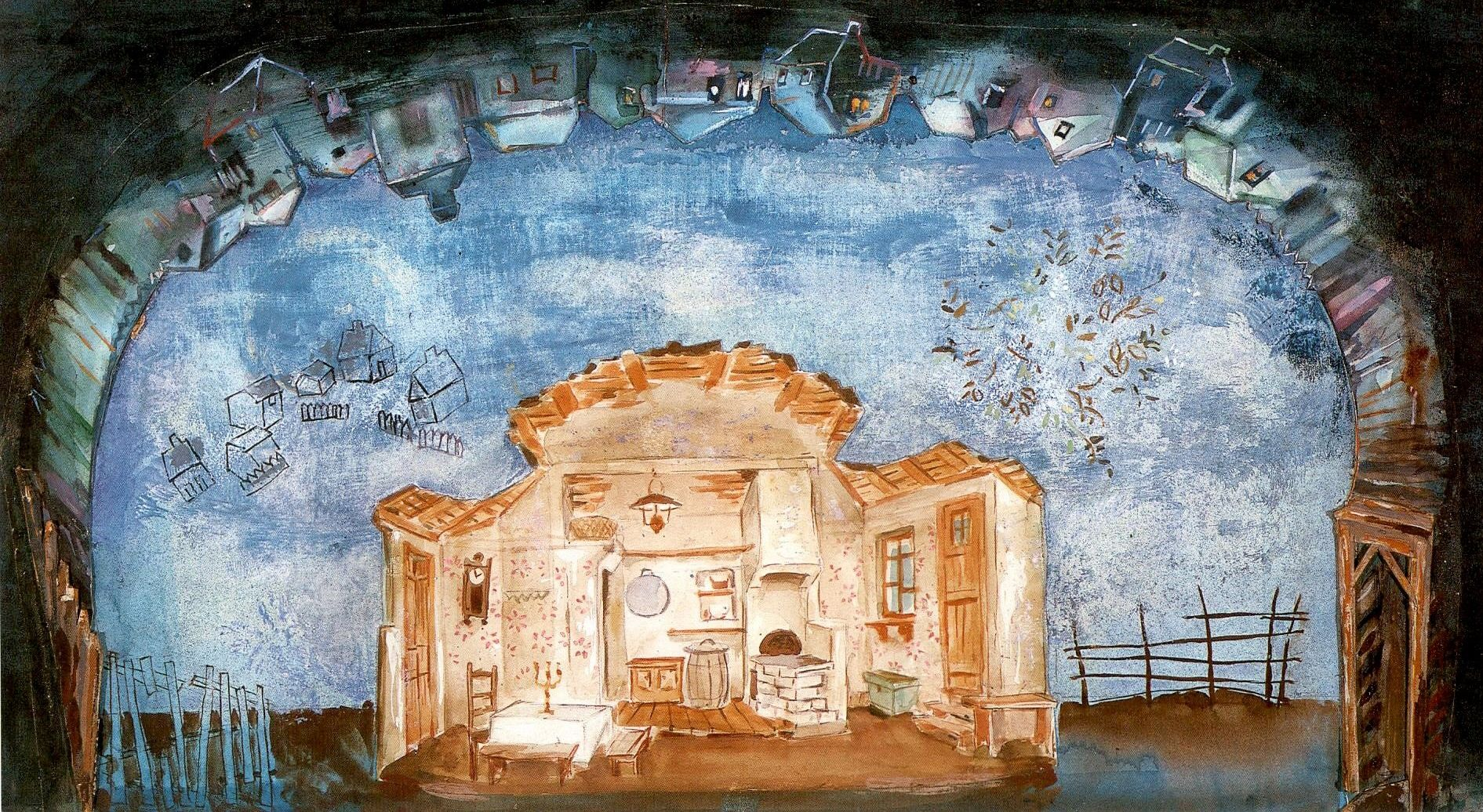 Fiddler On The Roof The Green Violinist By Marc Chagall Marc Chagall Chagall Chagall Paintings
