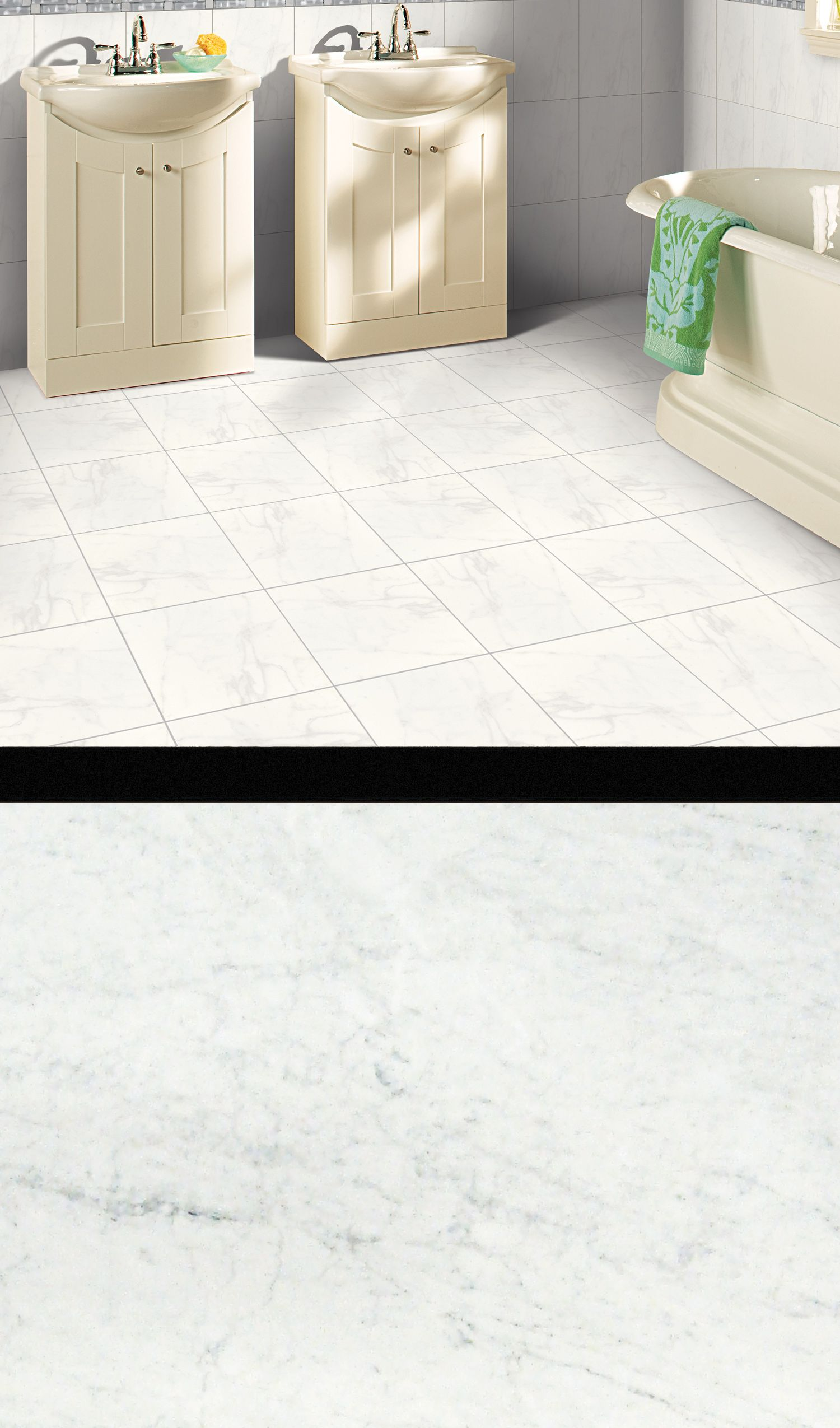 Add the look of natural marble to your home with