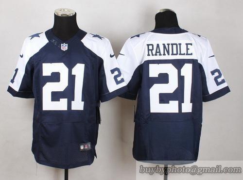 ce45f71c9 NFL Dallas Cowboys  21 Joseph Randle White Navy Jersey